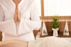 массаж oriental Стоковая Фотография