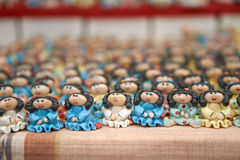 Масса куклы девушки керамическая Стоковое фото RF