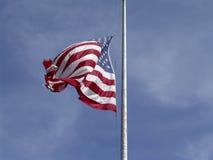 масса флага половинная стоковые фотографии rf