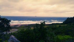 Массивнейшие волны в Новой Зеландии Стоковое Фото