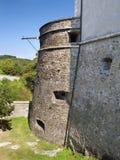 Массивнейший бастион на замке Cerveny Kamen Стоковая Фотография