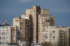 Массивнейший дом кирпича Стоковые Изображения