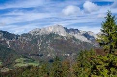 Массив горы Untersberg стоковое изображение rf