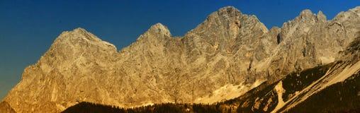 Массив известняка Dachstein стоковое фото rf