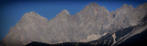 Массив известняка Dachstein стоковые фото