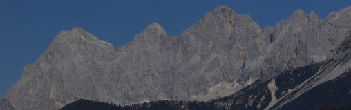 Массив известняка Dachstein стоковое фото