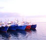 Массив кораблей Стоковое Изображение RF
