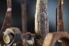Массив металлолома Стоковое Изображение RF