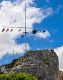 Массив флага на голове Артура: Fremantle, западная Австралия Стоковые Изображения