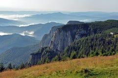 Массив Ceahlau, восточные Карпаты, Молдавия, Румыния стоковое изображение rf