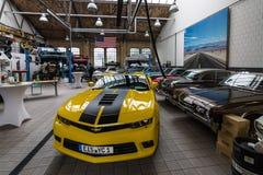 Мастерская автомобиля для обслуживания классических американских автомобилей Стоковое Изображение