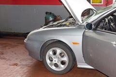 Мастерская автомобиля Стоковая Фотография RF