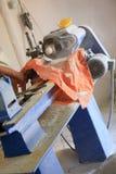 мастерская индюка lathe стоковое изображение rf