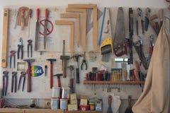 мастерская плотника s Стоковые Изображения