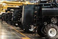 Мастерская собрания на большом промышленном предприятии Стоковое фото RF