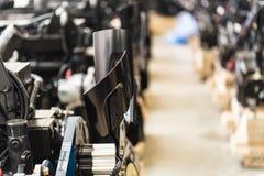 Мастерская собрания на большом промышленном предприятии Стоковая Фотография RF
