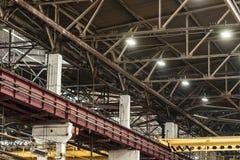 Мастерская собрания на большом промышленном предприятии Стоковая Фотография