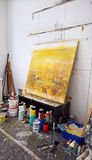 Мастерская художника s Стоковые Изображения