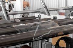 Мастерская для продукции полипропилена и полиэтилена Стоковые Фотографии RF
