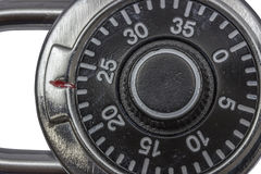 Мастерский padlock комбинации замка Стоковые Изображения RF