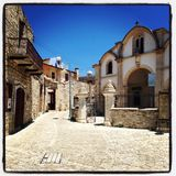Мастеры деревни в Греции Стоковые Фото