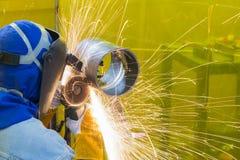 Мастер заварки меля стальная трубка Стоковая Фотография