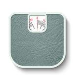 Масштабы веса ванной комнаты Стоковое Изображение RF