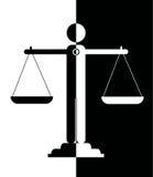 Масштабы правосудия иллюстрация вектора
