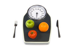 Масштаб веса стоковые фото