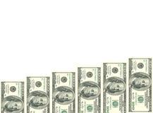 Масштаб денег которые растут день за днем стоковые изображения rf