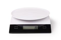 Масштаб кухни цифров Стоковое Фото