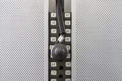 Масштаб машины поднятия тяжестей Стоковые Фото