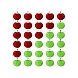 Масштаб оценки Яблока Стоковые Фотографии RF