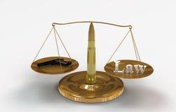 Масштаб правосудия Стоковая Фотография