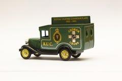 Масштаб умирает модель бросания Форда Van в ливрее старой королевской полиции полицейских сил Ольстера стоковые фотографии rf