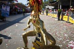 Масленица Барранкильи, в Колумбии Стоковая Фотография RF