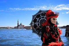 Масленица 2016 Венеции стоковые фотографии rf
