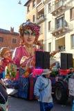Масленица Вероны, Италии Стоковое фото RF