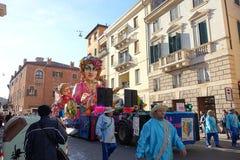 Масленица Вероны, Италии Стоковые Фотографии RF