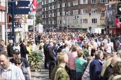 Масленица в Европе, Дании, Ольборге Стоковое фото RF