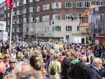 Масленица в Европе, Дании, Ольборге Стоковое Фото