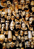 масленица Италия количества большая маскирует традиционный venetian venice Стоковая Фотография RF