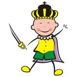 Масленица, король Стоковые Фото