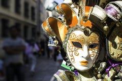 масленица маскирует venetian Стоковое фото RF