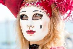 Масленица маск Венеции Стоковое Изображение