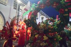 Масленица 2017 ночи Semarang Стоковое Изображение RF