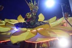 Масленица 2017 ночи Semarang Стоковая Фотография