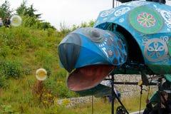 Масленица парада фестиваля гигантов в Telford Шропшире Стоковые Изображения RF