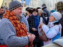 Масленица Праги стоковое фото rf