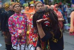 Масленица района Semarang годовщины культур Стоковые Изображения